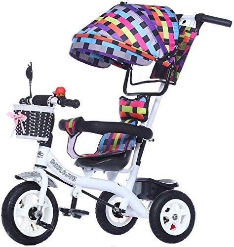 SYue 3 Wheeler for Infants Kinderwagen Multifunktions-Kinder-3-Wheeler, Fahrrad, 1-3-5 Jahre Alter Kinderwagen