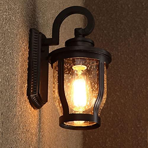 Lámpara de pared de aluminio de vidrio creativo a prueba de agua a prueba de agua de estilo europeo, simple y hermosa, lámpara montada, lámpara de pared de pared, lámpara, lámpara, lámpara, iluminació