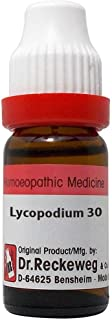Dr. Reckeweg Germany Homeopathy Lycopodium Clavatum (30 CH) (11 ML) by Qualityexports