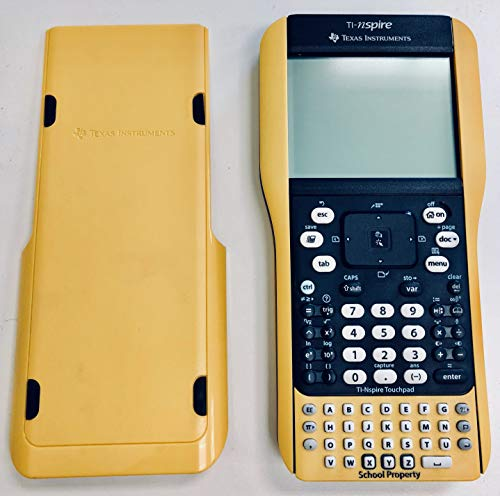 Texas Instruments TI Nspire Graphing Calculator with Nspire & TI-84 Plus Keypads - Yellow 'School...