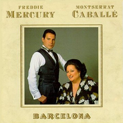 BARCELONA VINYL LP FREDDIE MERCURY/MONTSERRAT CABALLE 1988