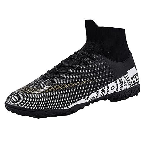 Zapatos De FúTbol Zapatos De Entrenamiento De FúTbol Hombres con Tacos para Zapatos De FúTbol Profesionales Al Aire Libre Unisex