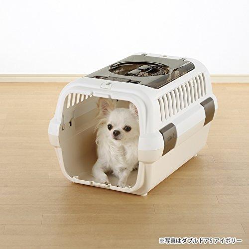 リッチェルキャンピングキャリーダブルドア小型犬・猫用ダークブラウンMサイズ