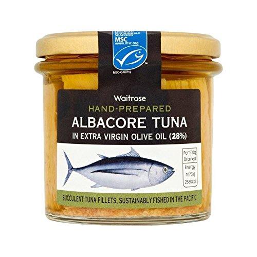 Weißer Thunfisch In Olivenöl 220G Waitrose - Packung mit 6