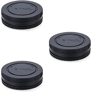 JJC Objektivdeckel für Sony E Mount A6600 A6500 A6400 A6300 A6100 A6000 A5100 A5000 A9 A7 III II A7R III II A7s II A7S NEX 5 NEX 6 C B1EM Kappe   3 Stück.