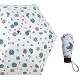 LYJZH Regenschirm Taschenschirm Kompakt, stabil - Schirm für Reisen & Business   Kinder Damen Herren Sonnenschutz Taschenschirm 50% Sonnenschirm Farbe4 90cm