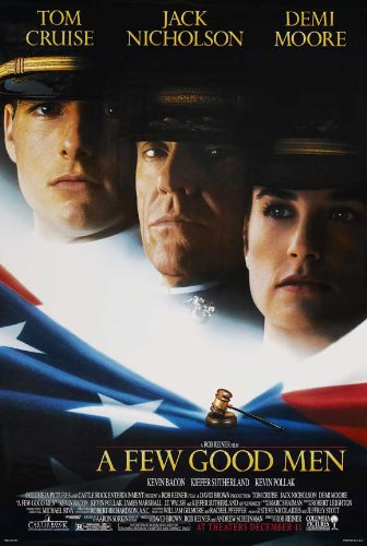 posters for men A Few Good Men 11 x 17 Movie Poster - Style C