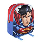 Superman Mochila 3D Azul