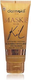 Dermokil Kil İçerikli Gold Maske - Soyulabi'lir 1 Paket