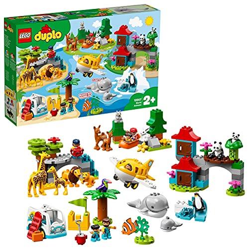 LEGO DUPLO Town 10907 - Tiere der Welt für Kleinkinder