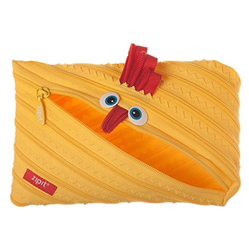ZIPIT Animals Big Pencil Case, Chicken