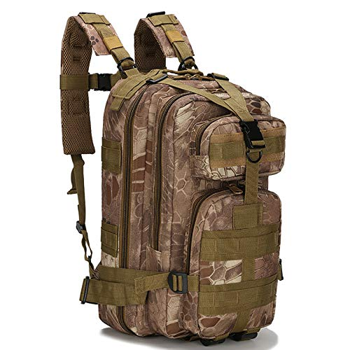 LKOP 40l Military Assault Backpack Military Tactical Backpack Camping Hiking Backpack Outdoor Sports Multifunctional Unisex I