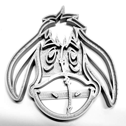 EEYORE WINNIE THE POOH BOOK CARTOON CHARACTER SPECIAL OCCASION COOKIE CUTTER BAKING TOOL 3D PRINTED MADE IN THE USA PR458