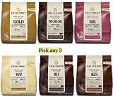 Callebaut RB1 Ruby (33,6%) - Cioccolato al latte Rosa - confezione da 400gr