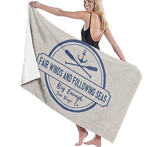 qinzuisp badlaken aangepaste zee meer schip boot douche handdoek Ultra sauna handdoek snel drogen absorberende huis badlakens spa bad handdoeken strandhanddoek Hotel 80X130Cm