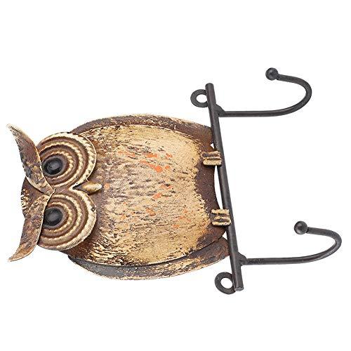 Wosune 【 】 Perchero para Pared, Perchero para Pared, Perchero, Perchero para Sombrero, Perchero, Gancho para Pared, Patio para Puerta de jardín