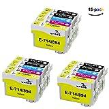 T0711 T0712 T0713 T0714 T0715 Patronen Kompatibel Epson S20 S21