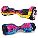 MightySkins Skin Compatible with Hover-1 H1 Hoverboard Scooter - Tie Dye 2 | Protective, Durable, and Unique Vinyl Decal wrap Cover |...