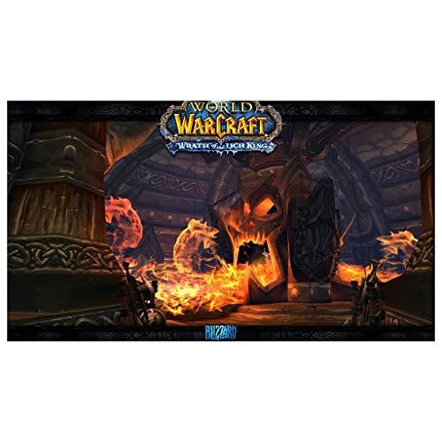 CFTGB World of Warcraft WOW Wrath of the Lich King - Alfombrilla de ratón grande para juegos, alfombrilla de ratón para ordenador, PC, alfombrilla de ratón (tamaño 700 x 300 x 3 mm)