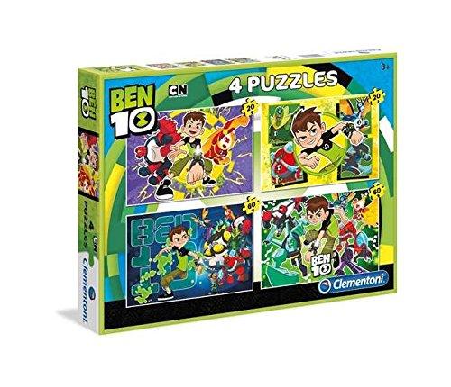 Clementoni Puzzle 20 Teile - 4 Puzzles - Ben 10