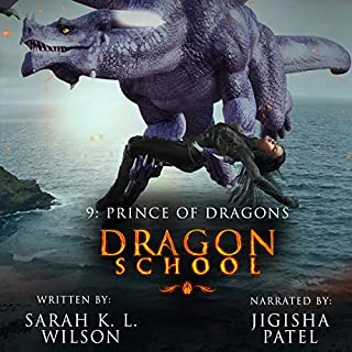 Dragon School: Dark Night audiobook cover art