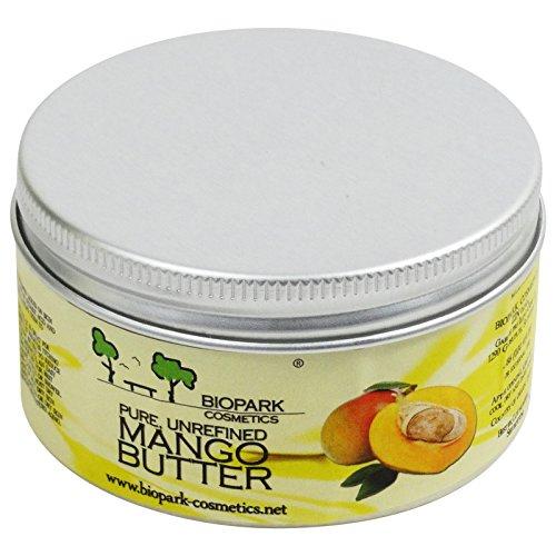 Biopark - Burro di Mango Biologico Puro non Raffinato Anti Age Doposole 100 gr