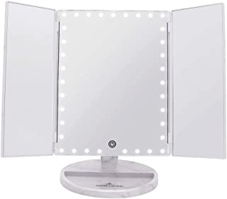 Impression Vanity Makeup Vanity Touch Trifold XL Dimmable LED Makeup Mirror
