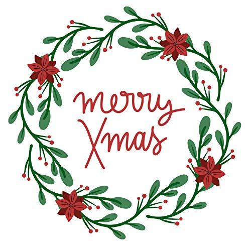 Happy Christmas 30/ Cross Stitch Pattern: Counted cross stitch Patterns/ Christmas Cross Stitch Pattern/ Cross Stitch Designs/ Printable Chart PDF