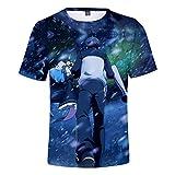 Vida en un Mundo Diferente Desde la Camiseta Cero Moda de Moda Hip Hop Streetwear Classic Summer T Shirt Anime Tees-1_XXXL