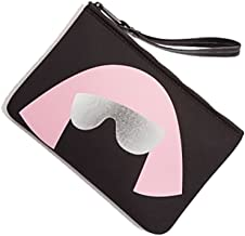 Love Bravery by Lady Gaga and Elton John Pouch, Black/Pink