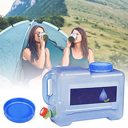 pegtopone Depósito de agua portátil para camping con depósito de agua del grifo no tóxico y cantina de emergencia de gran capacidad.