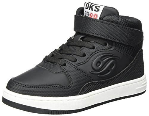 Dockers by Gerli Unisex-Kinder 41EL602-617 Hohe Sneaker, Schwarz (Schwarz), 32