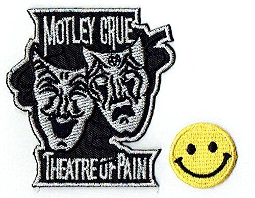 MOTLEY CRUE THEATRE OF PAIN: an American heavy metal music band apliques...