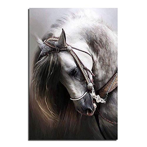Diy diamante pintura kits de bordado animal caballo punto de cruz rhinestone crystal mosaico bordado fotos decoración del hogar