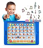 Learning Pad Fun Kids Tablet with 6 Toddler Learning Games by Boxiki Kids