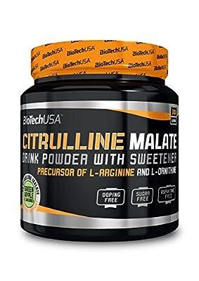 Citrulline Malate green apple 300g - Citrulline malate instant drink, drink powder - BiotechUSA