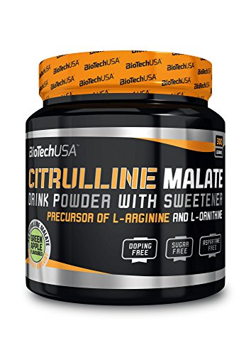 BioTech USA IAF00092731 Citrulline Malate, 300 g, Neutro