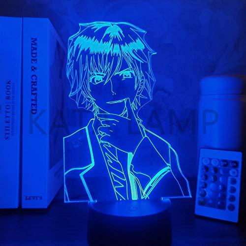 Anime-Lampe, 3D-Diabolik-Liebhaber, Sakamaki, Ayato, für Schlafzimmer, Dekoration, Geburtstagsgeschenk, Manga-Nachtlicht, Touch-Steuerung