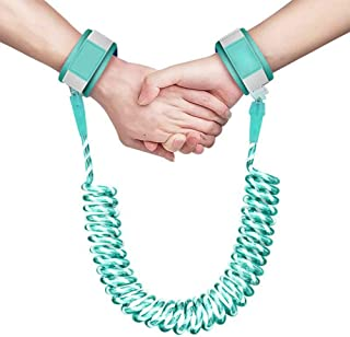 Toddler Leash Toddler Wrist Leash, Breathable Wristbands 360°Rotation Night Vision 1.5m/2m/2.5m Safety Child Leashes for Toddlers Anti Lost Wrist Link with Key Lock for Kids 1-12 yrs