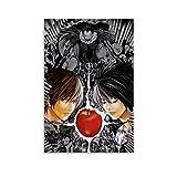 Póster de anime japonés Death Note 1 y arte de pared con impresión moderna para dormitorio familiar, 30 x 45 cm