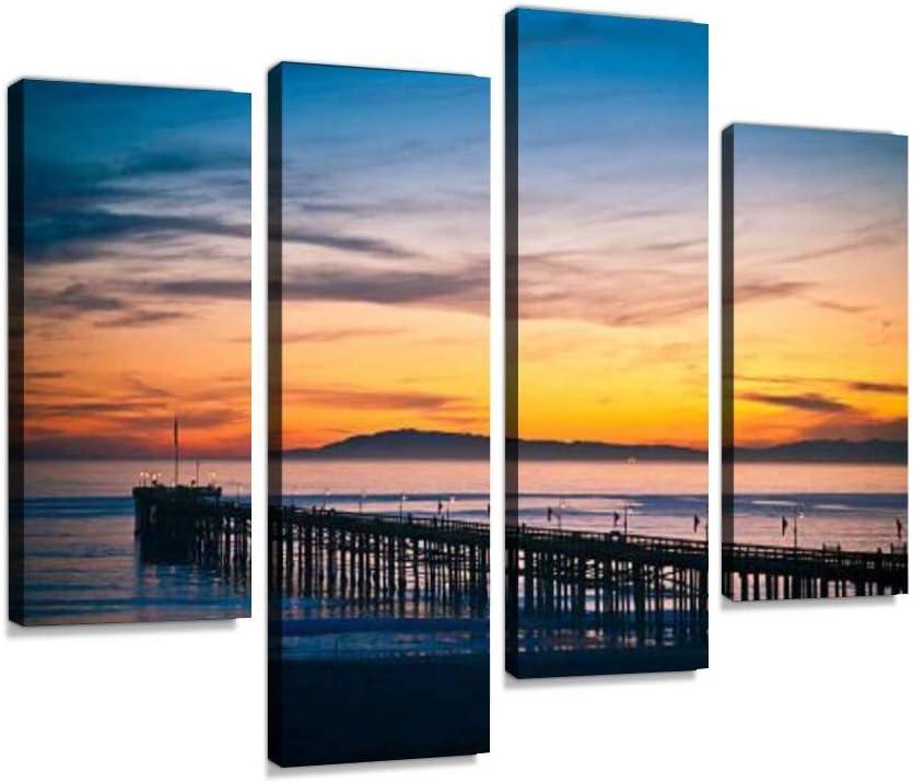 Ventura Pier Canvas Wall Art Paintings Milwaukee Mall Ab Modern Artwork Ranking TOP20 Hanging