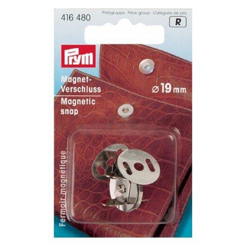 Prym Magnet-Verschluß 19 mm silberfarbig