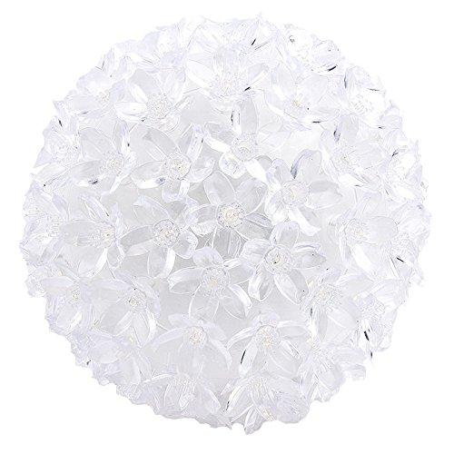 LED-Leuchtkugel Kirschblüte, Ø 14cm, warmweiß, mit 100 LED-Lämpchen, Netzbetrieb | Leuchtball, Fensterdekoration, Raumdekoration für Frühling, Sommer