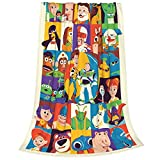 KAVIN Toy Story Blanket Ultra-Soft Micro Fleece Throw Blanket Flannel Blankets for Couch Bed Living Room 40 X 50 Inch