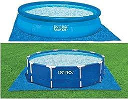 Intex markduk för simbassänger blå, 472 x 472 cm