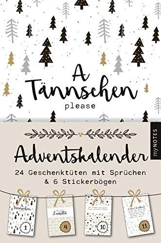 myNOTES A Tännschen please: Adventskalender