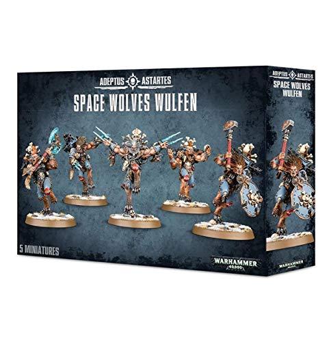 """Games Workshop 999000006666 """"Space Wolves Wulfen Kit de plástico"""