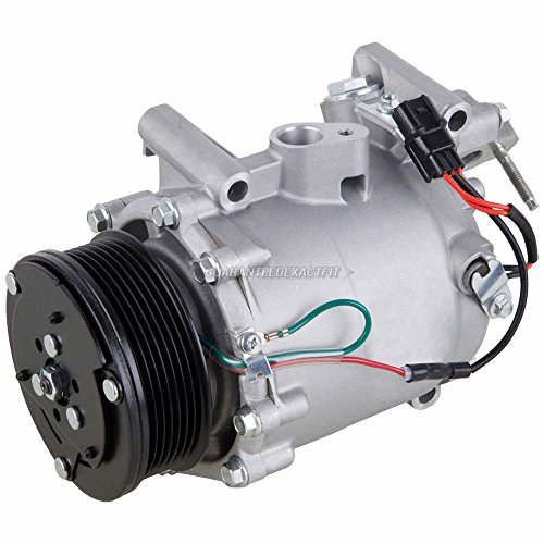 AC Compressor & A/C Clutch For Honda Civic Si 2006 2007 2008 2009 2010 2011 - BuyAutoParts 60-02306NA NEW