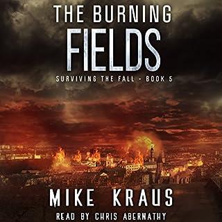 Page de couverture de The Burning Fields