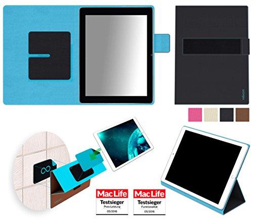reboon Hülle für Blaupunkt Endeavour 1000 HD Tasche Cover Hülle Bumper | Testsieger | Schwarz